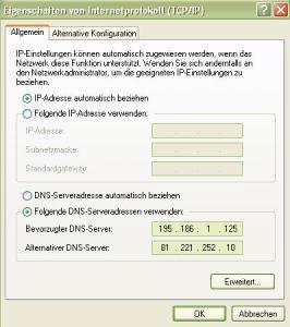 Dns Server Schweiz